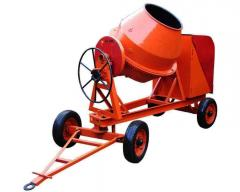 Concrete mixers for construction
