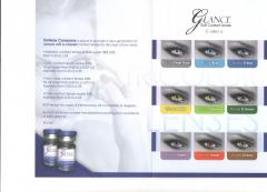 Glanse contact lenses