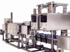 Equipment for production of high pressure sleeves