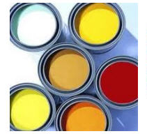 Paint materials water-emulsion