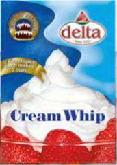 Machines for the production of whipped cream